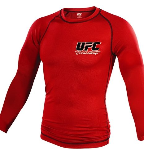 UFC® Classic Long Red rashguard-0