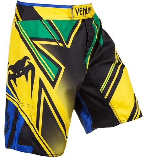 Venum Wands Conflict hlačke Yellow/Blue/Green-0