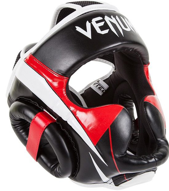 Venum Elite čelada Black/Red/Ice-0