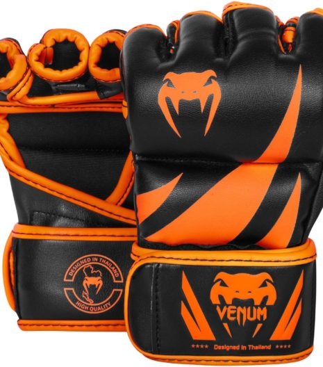 Venum Challenger MMA rokavice Neo Orange/Black-0