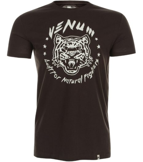 Venum Natural Fighter majica Brown-0
