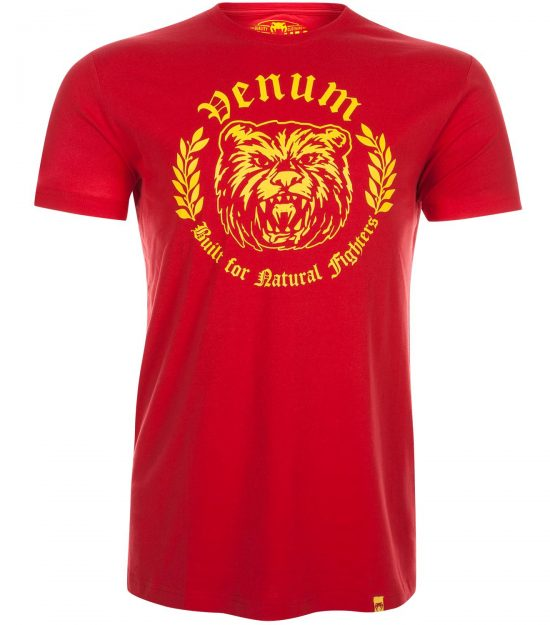 Venum Natural Fighter Bear majica red-0