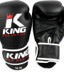 King KPB Pro Boxing rokavice Black/White-0