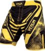 Venum Technical hlačke za MMA Black/Yellow-0