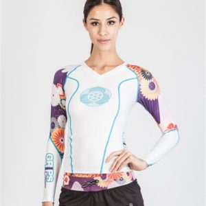 Grips Powerflower rashguard ženski White-0